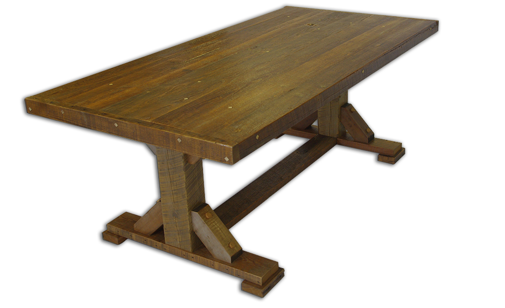 Trustle Table - Natural Stain