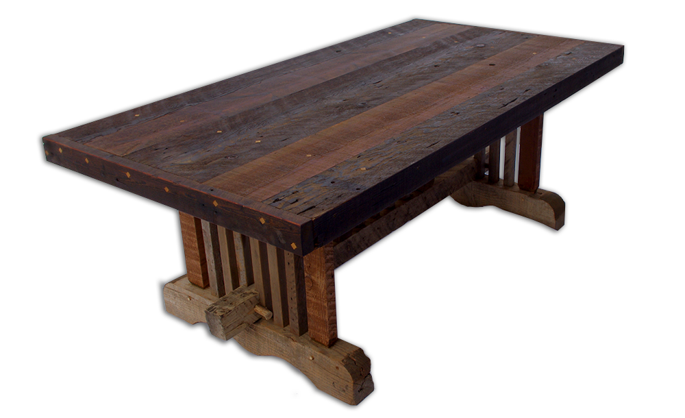 Barnwood table