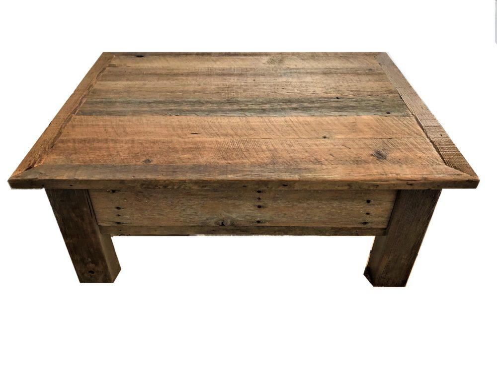 Barnwood furniture, Coffee Table, Heritage Barnwood Company